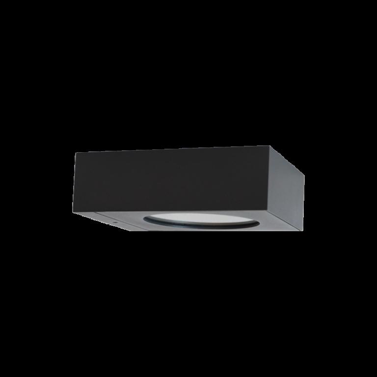 iluminação de exterior saliente, aplique de parede led