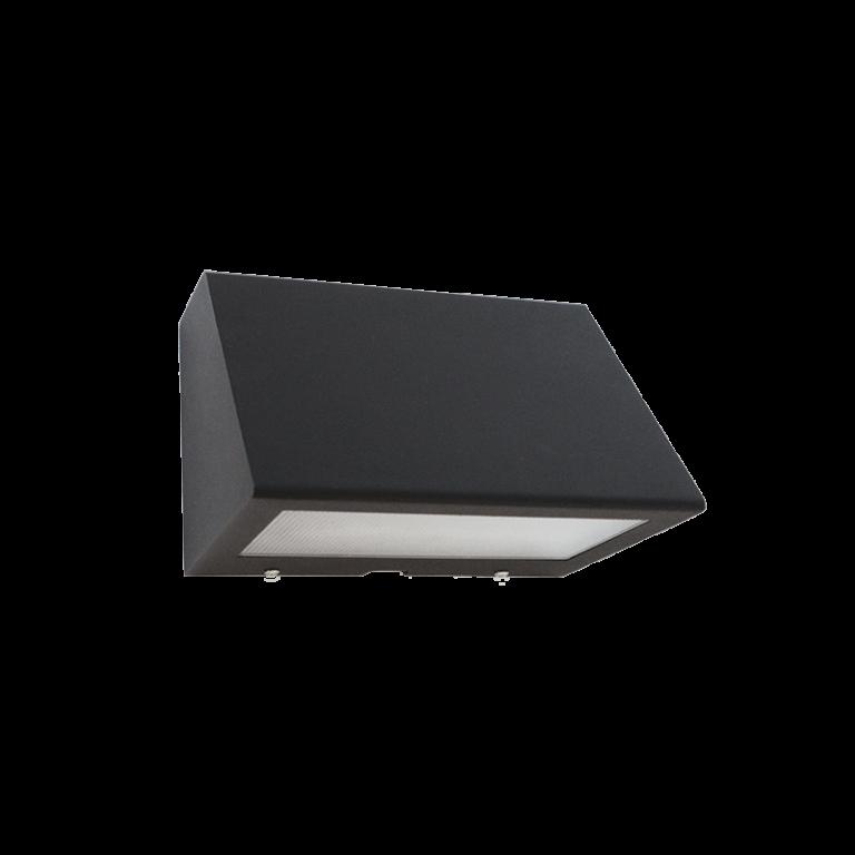 iluminação exterior led saliente, aplique de parede